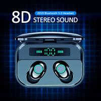 TWS Bluetooth 5.0 Headset Wireless Earphones Mini Earbuds Stereo Headphones IPX7