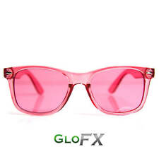 GloFX Baker-Miller Pink (Rose) Color Therapy Glasses Chromatherapy Glasses Rave