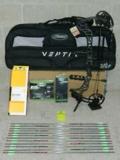 Loaded Mathews Vertix Bow Package- Black -Many Dl/DW - Right Handed