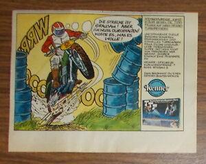 Vintage 1979 Kenner TTP Deluxe Thrill Set playset Print Ad advert German