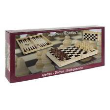 Multijuegos AQUAMARINE, Ajedrez Damas Y Backgammon