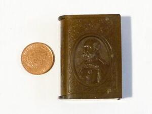 Antique Bakelite Book Form Double Ended Vesta Case King Edward VII #V90