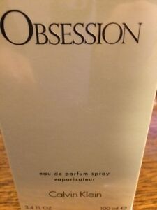 OBSESSION * Calvin Klein * Perfume for Women * 3.3 / 3.4 oz * edp * TSTR