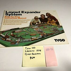 GB131 Tyco HO Layout Expander System 1975 Step by Step Instruction Manual
