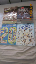 LOT OF FOUR LOS ANGELES DODGERS YEARBOOKS 1975-1978