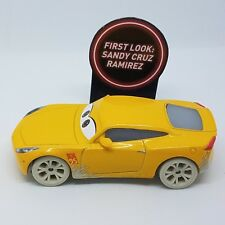 Disney Pixar Cars 3 Sandy Cruz Ramirez from Fireball Beach 1:55 Loose No Package