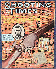 Magazine SHOOTING TIMES, Feb 1964 SAVAGE Model 24 RIFLE/SHOTGUN, LINCOLN'S GUNS