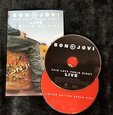 Video DVD - Bon Jovi - This Left Feels Right Live - 2 Disc Set - Like New (LN)