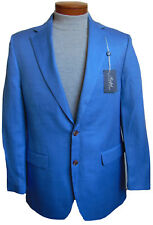 Men's RALPH LAUREN Light Blue Linen Silk Jacket Blazer 40 Long 40L NWT NEW $295+