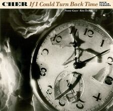 """CHER If I Could Turn Back Time (Rock Guitar Version) 12"""" Record Geffen 1989"""
