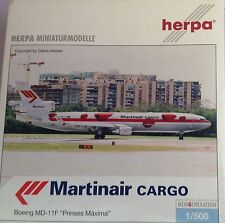 "BOEING MD-11F ""Prinses Maxima"" MARTINAIR CARGO -  scala 1/500 HERPA (510769)"