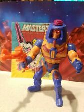 Masters Of The Universe Man E Faces Vintage Action Figure Complete He-Man MOTU