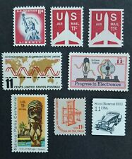 United States lot of 8 MNH 11 cent stamps
