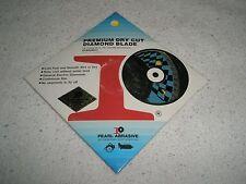 "Pearl Abrasive DIAMOND BLADE  4""  Premium Dry Cut blade  DIA004EC NEW"