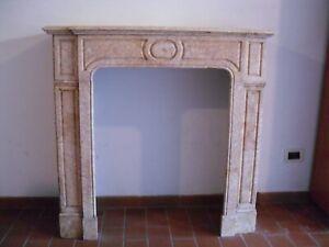 Caminetto francese antico in marmo