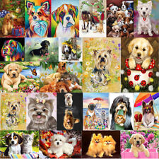 Dog 5D Diamond Painting Embroidery Cross Stitch Picture Art Craft Kit Wall Decor