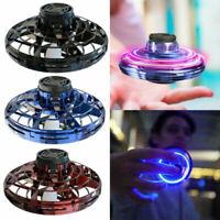 Flynova Drone UFO Flying Gyro Spinner Toys Induction Lighting Aircraft Returning