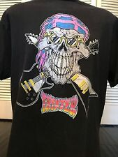 VTG 90 Trixter Tour Shirt Sz XL Rock Ratt Metal Dokken Poison Vixen Crue Skid