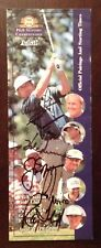 Arnold Palmer Jack Nicklaus Gary Player Hale Irwin Lee Trevino Ray Floyd Signed