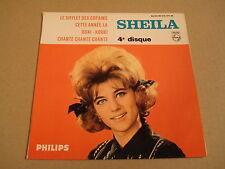 45T EP PHILIPS 432.977 BE / SHEILA - LE SIFFLET DES COPAINS