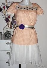 NOA camiseta blusa - TALLA S 36 - Amish algodón Comprobado - innocent NARANJA