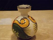 Nino Parrucca  Signed Decanter Hand Painted Made in Italy Fish