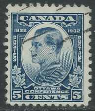 Canada #193(7) 1932 5 cent blue Prince of Wales (Edward) Used CV$4.00