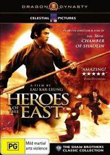 DVD Movie - HEROES OF THE EAST - As New - Region 4