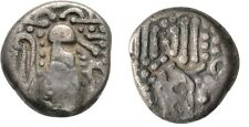 900-1150 AD India Saurashtra and Gujarat Silver Drachm