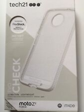 Tech21 Evo Check Ultra Slim Protection Case For Motorola Moto Z2 Force Clear NEW