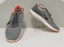 Nike Flex Tr 7 Grey Running Shoes Mesh Knit Tech Yoga Exercise Gym Athletic 7.5
