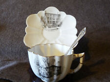New listing Longfellow'S Home And Birthplace Cup Saucer Set With A Matching Demitasse Spoon