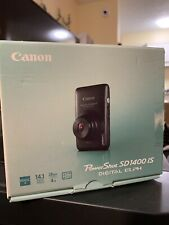Canon PowerShot Elph SD1400 IS 14.1MP Camera - Black - 013803119251