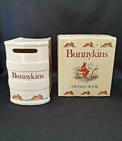 Bunnykins Savings Book/Money Box by Royal Doulton in Original Box