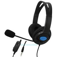 Wired Gaming Headsets Headphones with Mic for PS4 Sony PlayStation 4 /PC