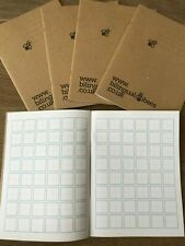 Japanese / Chinese Characters Writing Practice - Exercise Book 80pg 20mm Squared