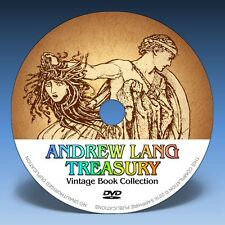 ANDREW LANG TREASURY * 294 Stories on DVD * Over 870 H.J.Ford Illustrations