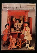 Dolls postcard German Male Craftsmen Merchants Scissor Grinder Musician Market