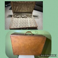 Vintage Hartmann Belting Suitcase Luggage Carry-On Pullman 29X20