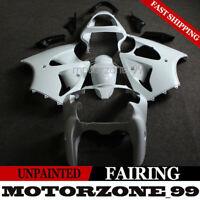 Unpainted ABS Fairing Kit For Kawasaki Ninja ZX-6R 2000-2002 ZZR600 2005-2008