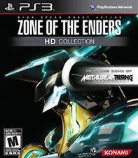 Zone of the Enders HD Collection NEW sealed w/ MG Rising Demo Playstation 3 PS3
