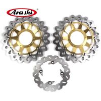 Fit HONDA CBR1000RR 2006 2007 CBR 1000 RR Front Rear Brake Disk Rotors Set CMD