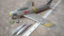 NORTH AMERICAN F-86 SABRE 'MIKES BIRD' 1/48 SCALE SPARES OR REPAIR (PRO BUILT)