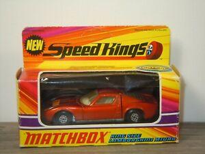 Lamborghini Miura - Matchbox Speed Kings K-24 England in Rare TESTED Box *53523