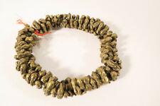 Alte Bronze Messingperlen Igbo Bugs CC36 Old brass beads Africa trade Afrozip