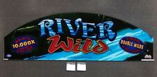 Bally Cinevision Video Slot Machine Glass & Software RIVER WILD