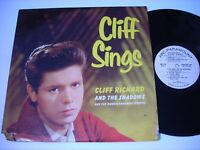 PROMO Cliff Richard and the Shadows Cliff Sings 1960 Mono LP