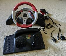 Mad Catz MC2 Racing Wheel Controller for PlayStation 2, GameCube, and Xbox