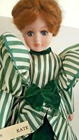 Seymour Mann Kate Porcelain Doll Ltd Ed Scarlett O'Hara Gone w/ Wind Green Dress