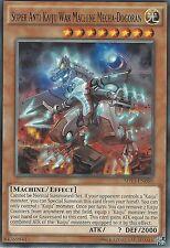 YU-GI-OH CARD: SUPER ANTI-KAIJU WAR MACHINE MECHA-DOGORAN - RARE - SHVI-EN088